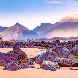 Sunrise West Maui mountains