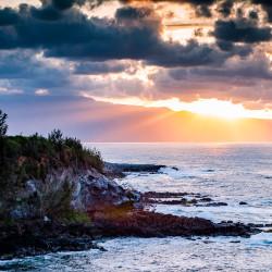 Sunset Haiku coast